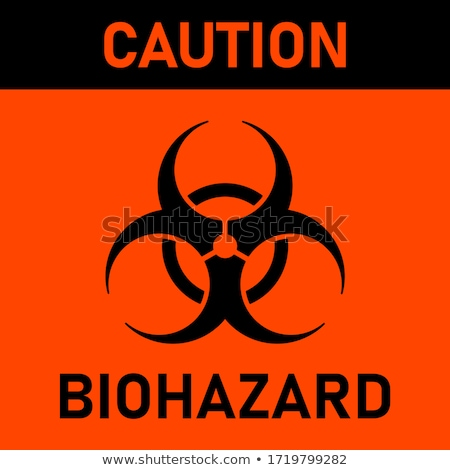 Biohazard sign Stock photo © shutswis