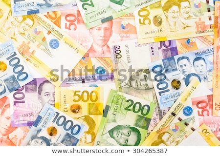 philippines peso collage stock photo © mtkang