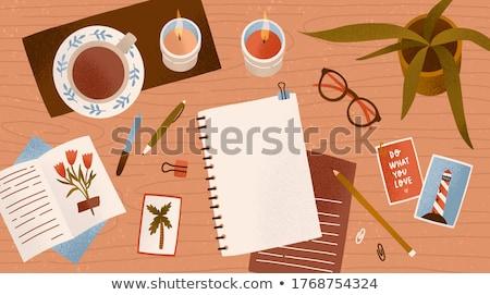 Sketchbook Stock photo © zzve