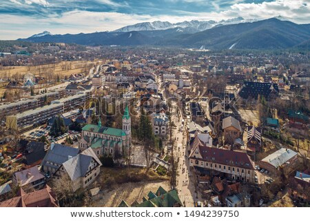 City of Zakopane and Tatras  Stock photo © marekusz