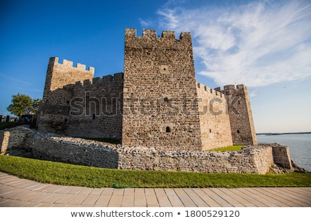 old castle eastern europe Serbia Stock photo © goce
