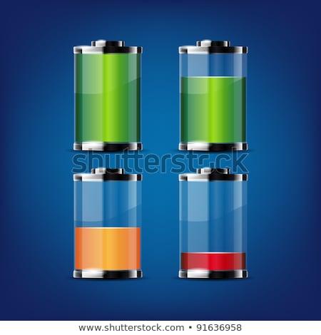 batteria · trasparente · elettrica · lucido - foto d'archivio © robuart