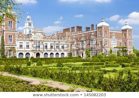 Garten Haus england Gebäude Architektur Anlage Stock foto © phbcz