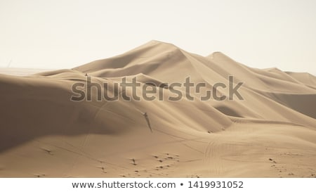 砂丘 · 7 · ナミビア · アフリカ · 空 · 砂漠 - ストックフォト © imagex