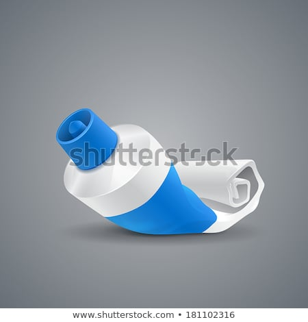 Almost empty toothpaste tube Stock photo © monkey_business