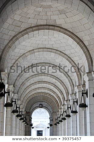 Vaulted ceiling at Washington DC train station Stock photo © alex_grichenko