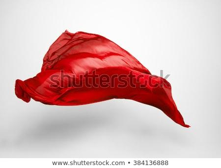 Materiaal stroom Rood kastanjebruin achtergrond Stockfoto © nicemonkey