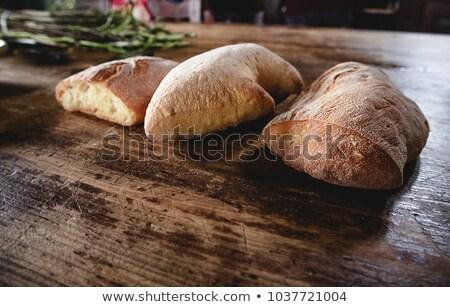 香ばしい · 新鮮な · パン · バスケット · 自家製 - ストックフォト © mcherevan