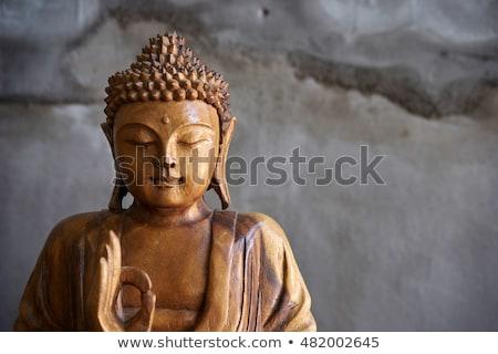buda · estátua · tiro · estúdio · paz - foto stock © wavebreak_media