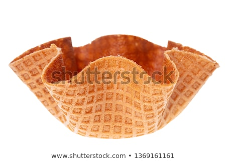 Wafer bowl Stock photo © Digifoodstock