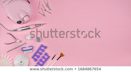 Set of nails Stock photo © kayros