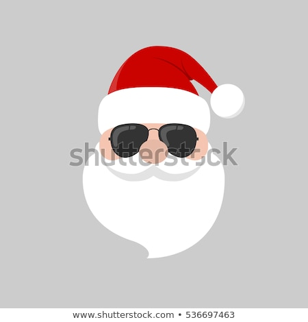 あごひげ · サンタクロース · eps · 10 · ベクトル - ストックフォト © beholdereye