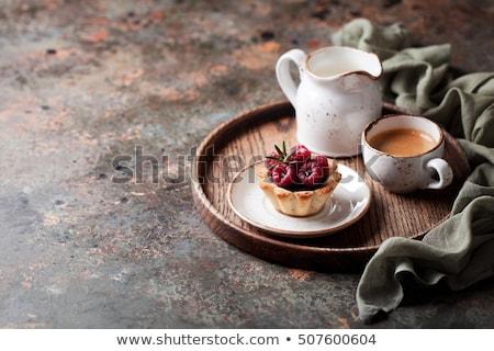 Chocolate & Coconut Tartlets Stock photo © Digifoodstock
