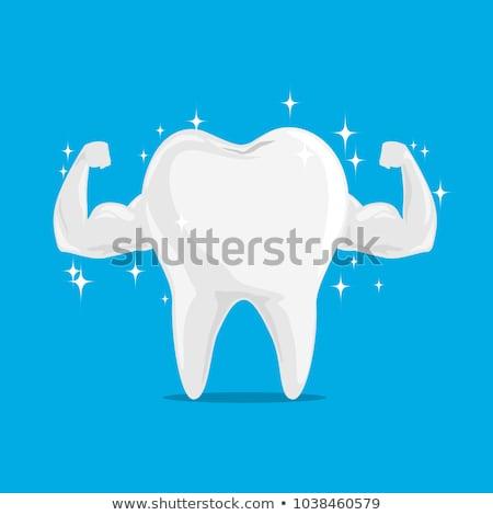 Tooth symbol background Stock photo © Tefi