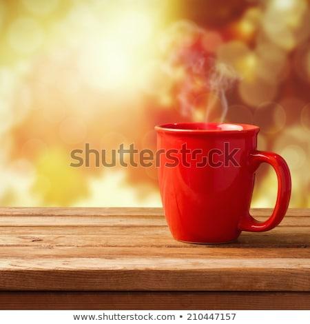 top · smakelijk · eigengemaakt · pannenkoeken · beker - stockfoto © dariazu