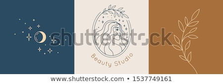 cara · da · mulher · design · de · logotipo · feminismo · negócio · menina · cor - foto stock © sarts