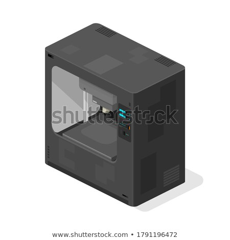 modern · billentyűzet · pénztár · numerikus · billentyűzet · 3d · illusztráció · kiválasztott - stock fotó © tashatuvango