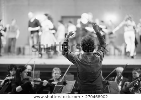 musical composition and art direction stock photo © olena
