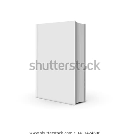 Template three-dimensional hardcover closed book Stock photo © orensila