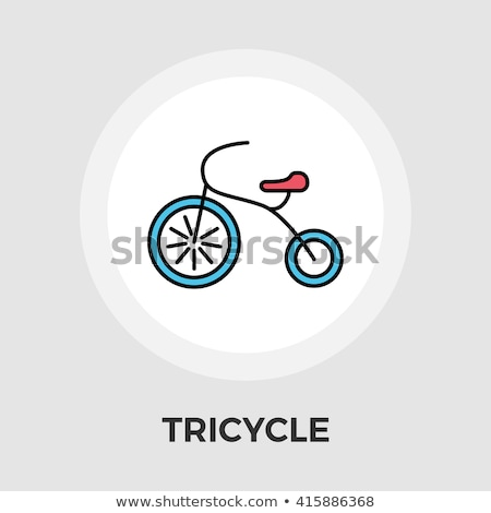 Stockfoto: Fiets · icon · clipart · afbeelding · eps · bestand