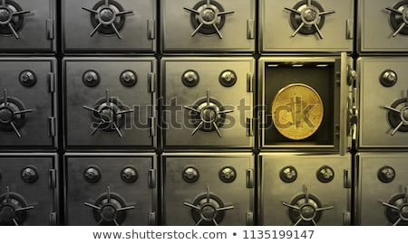 Waluta bezpieczne przechowywania internetowych ceny działalności Zdjęcia stock © MaryValery