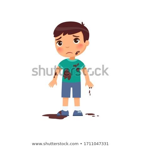 Cartoon · бедные · человека · дизайна · искусства · ретро - Сток-фото © artisticco