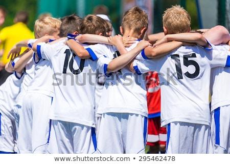 Children Football Team. Football Club for Kids Stock photo © matimix