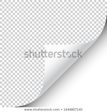 üres · címke · sablon · fehér · háttér · űr - stock fotó © colematt
