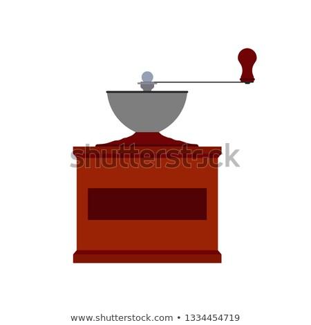コーヒー グラインダー ミル マシン 表示 ベクトル ストックフォト © robuart