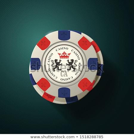 игорный чипов Top мнение фишки казино Сток-фото © Winner