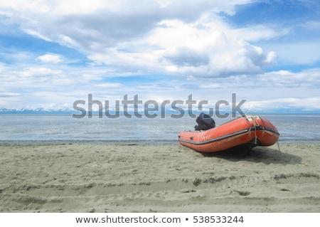 高速 ビーチ 救助 海 車両 準備 ストックフォト © morrbyte