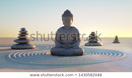 stone buddha stock photo © bbbar