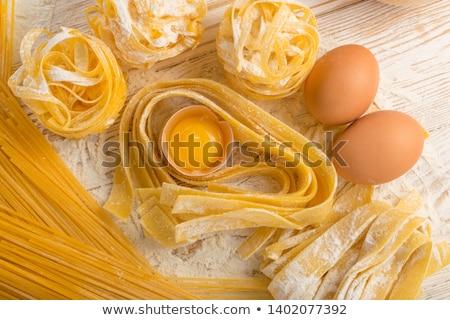сырой · спагетти · цвета - Сток-фото © zkruger