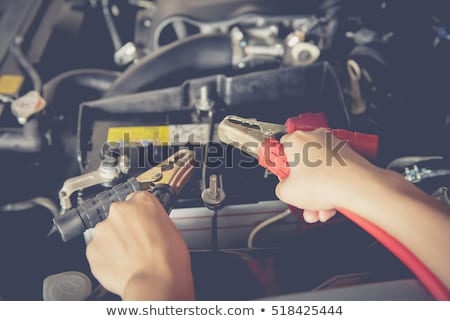 car battery jumper cables stock photo © stoonn