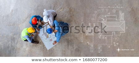 Designer and foreman Stock photo © photography33