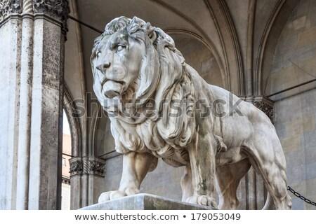 лев голову Мюнхен изображение Nice Германия Сток-фото © magann