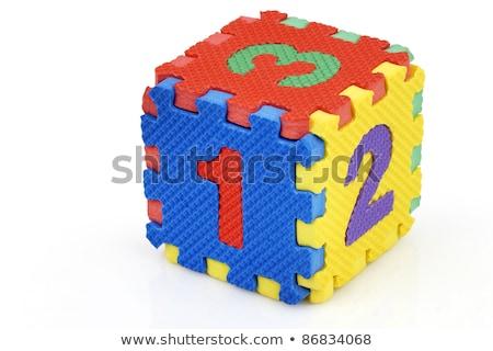 colorful foam dice stock photo © taigi