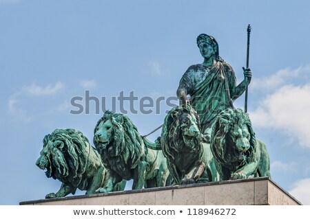 Três Munique Alemanha estátua cultura escultura Foto stock © prill