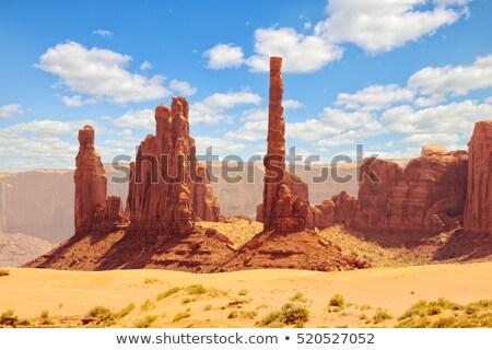 słup · dolinie · parku · USA · charakter · podróży - zdjęcia stock © phbcz