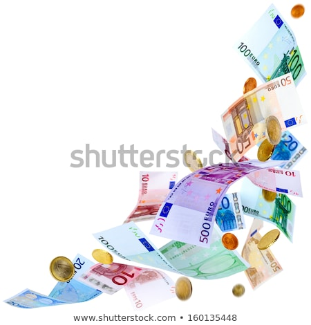 Foto d'archivio: European Currency Falling From Heaven