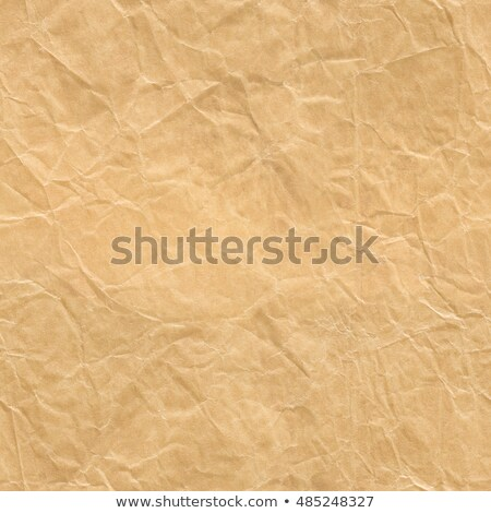 seamless wrinkled brown paper closeup texture background stock photo © leonardi