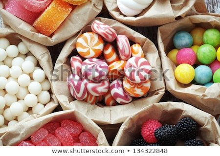 Assorted candy in a bag Stock photo © Stootsy