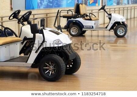 airport electric cart stock photo © ozgur