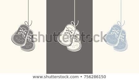 genuíno · couro · isolado · branco · bebê - foto stock © ruslanomega