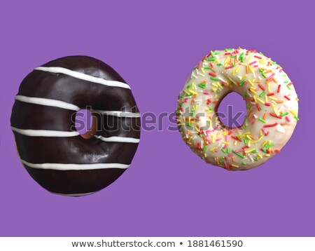 iki · glasaj · şekeri · beyaz · çikolata · arka · plan · yeme - stok fotoğraf © wavebreak_media