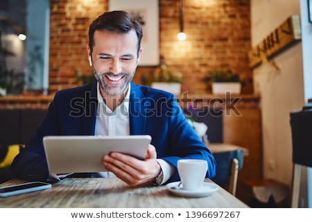 imprenditore · digitale · adulto - foto d'archivio © wavebreak_media