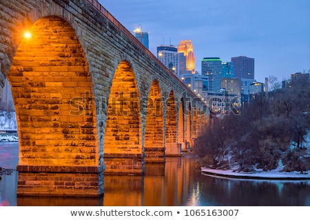 famous stone arch Stock photo © vwalakte