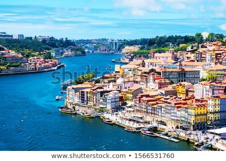 ribeira area of porto portugal stock photo © travelphotography