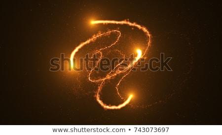 黄色 オーブ 孤立した 白 惑星 ストックフォト © ArenaCreative