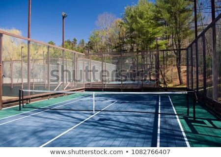 Platform Tennis Court Stock photo © chrisbradshaw
